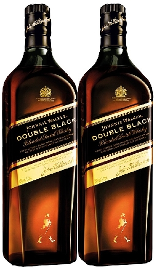 Johnnie Walker Double Black 40% Twinpack 2x1L