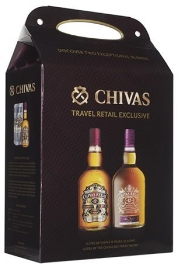Chivas Regal + Chivas Brothers' Blend Whiskey Set 2x1L