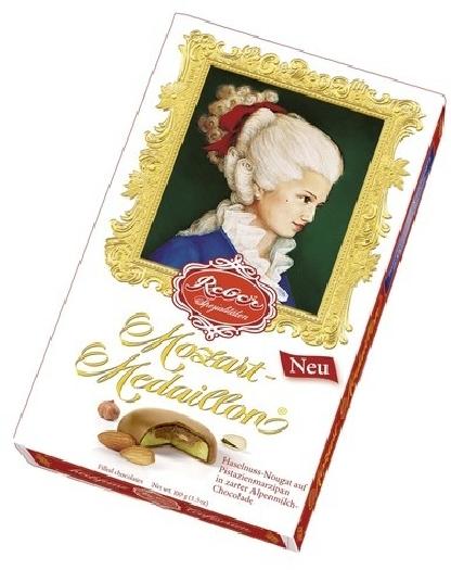 Reber Constanze Mozart Medaillon milk chocolate 100g