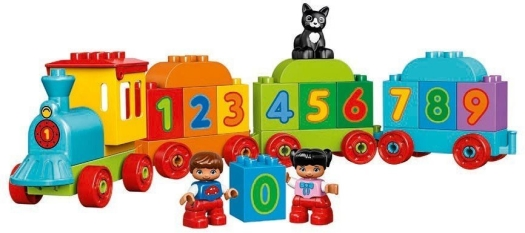 LEGO System AS line Duplo number train