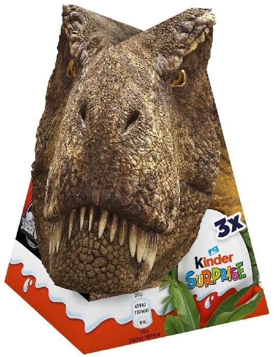 Kinder Surprise Jurassic World 3 Eggs 60g