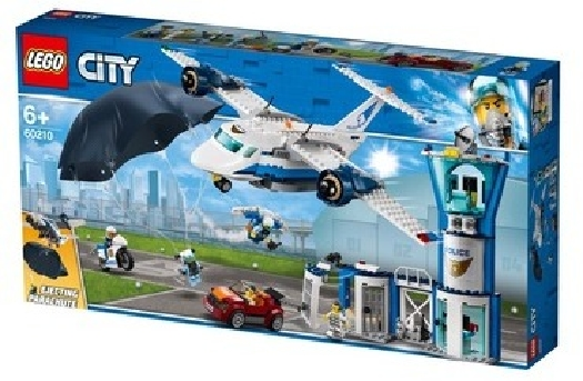 Lego City Police Sky Police Air Base