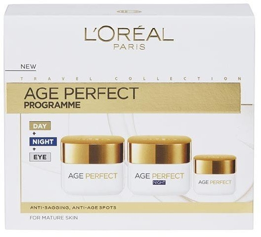 L'Oreal Age Perfect Program Set 50ml+50ml+15ml