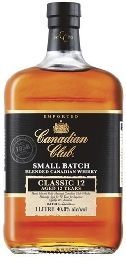 Canadian Club Classic Whiskey 12 YO 1L