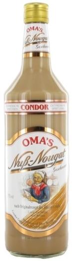 Condor Oma's Sahnelikor Nuss Nougat 1L