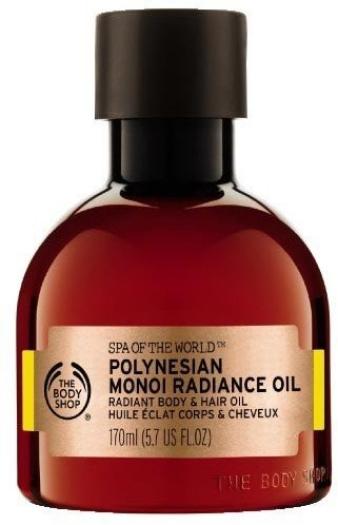 The Body Shop Spa of the World Polynesian Monoi Radiance Oil 170ml