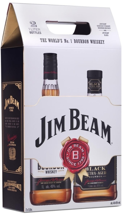 Jim Beam Black&White Bi-Pack 2x1l