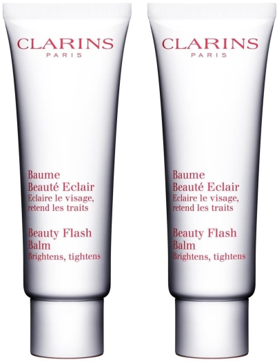 Clarins Beauty Flash Balm Duo Travel Set 2x50ml