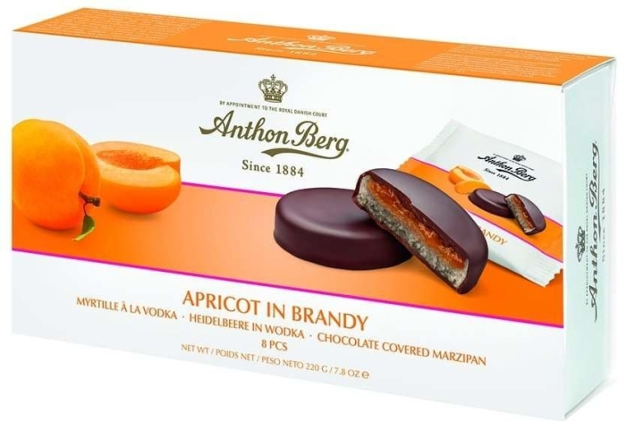 Anthon Berg Apricot in Brandy Chocolates 220g