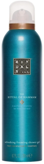 Rituals Hammam Foaming Shower Gel 200ml