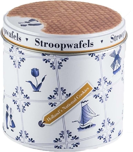 Stroopwafel&Co Stroopwafels Tin 250g