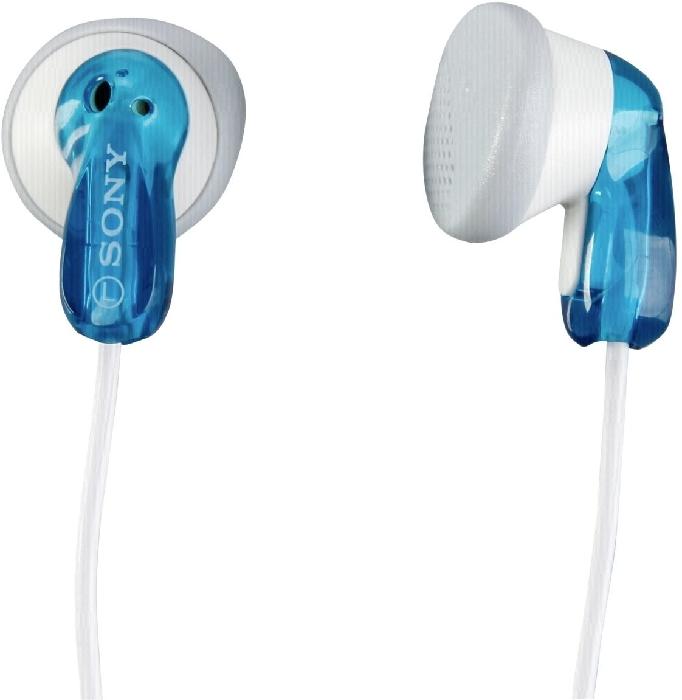 Sony MDR-E9LP In-Ear Headphones Blue 6g