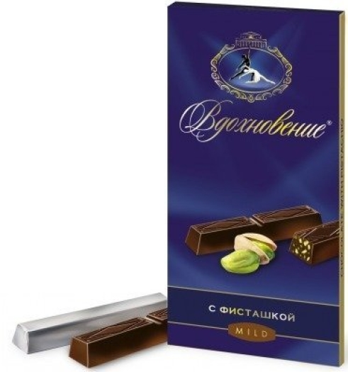 Babaevsky Artpassion Chocolate with Pistachios 100g