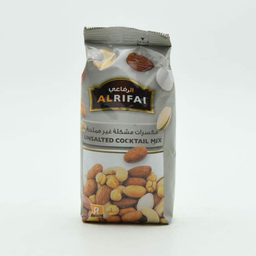 Al Rifai Unsalted Cocktail Mixed Nuts 200g