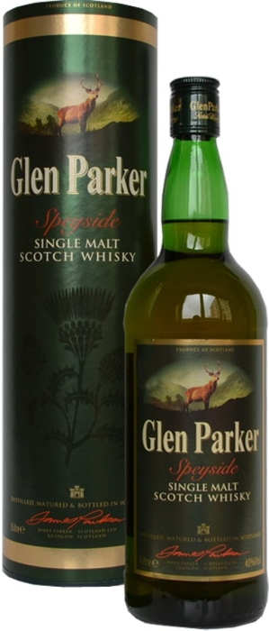 Glen Parker Single Malt Whisky 1L