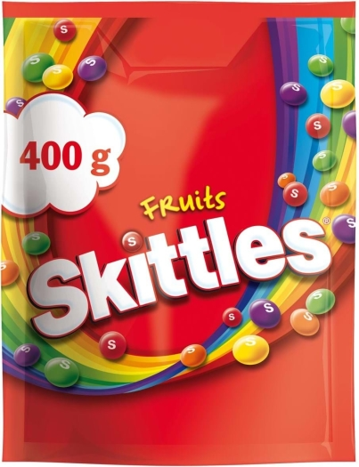 Skittles Fruits Pouch 400g