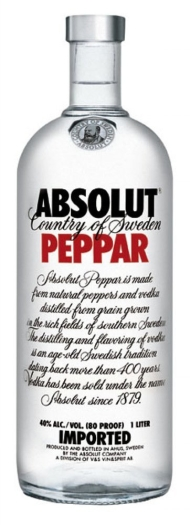 Absolut Vodka Peppar 1L