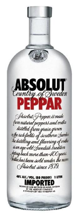 Absolut Vodka Peppar 1L