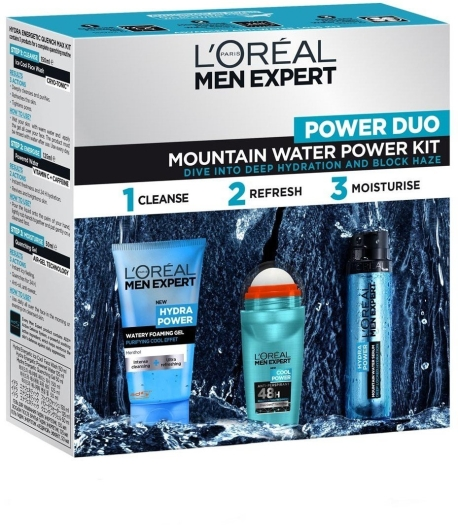 L'Oreal Hydra Power Set 50 ml + 100 ml + 50 ml
