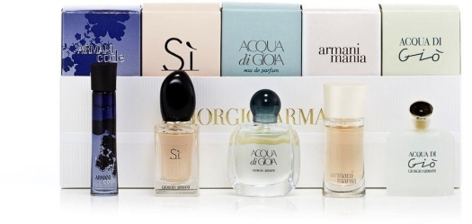 Armani Set Miniatures Women Collection EdP 5ml + 3ml + 7ml + 5ml + 4ml