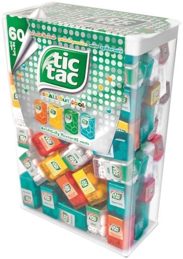 Tic Tac Mini Boxes 228g