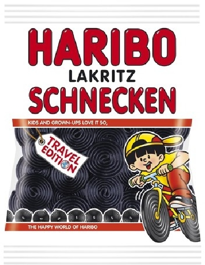 Haribo Licorice Wheels 500g