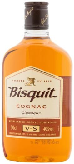 Cognac Bisquit Classic 40% 0.5L