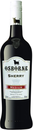 Osborne Medium Dry Sherry 1L