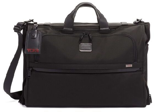 Tumi ALPHA 3 Garment Bag Tri-Fold Carry-On, Black 117148