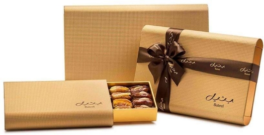 Bateel Jeddah Gold Box Skyline With Gold Insert 500g