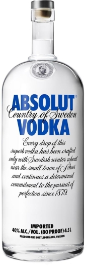 Absolut Vodka 40% 4.5L