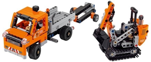 LEGO System AS, line Technic, roadwork crew