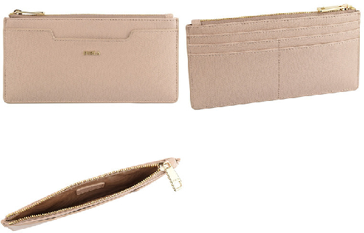 Furla Astrid XL Business Card Case, Beige 1051248