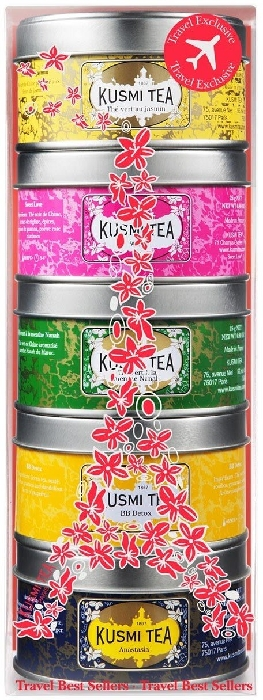 Kusmi Tea Best Sellers Metal Tin 5x25g