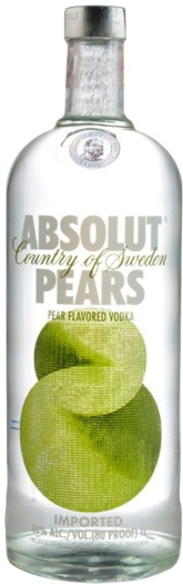 Absolut Vodka Pears 1L