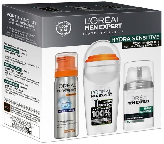 L'Oreal Paris Hydra Sensitive Set 3x50ml