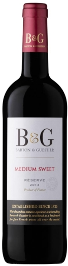 Barton&Guestier Medium Sweet Red 0.75L