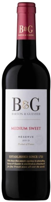 Barton&Guestier Medium Sweet Red 0.75L