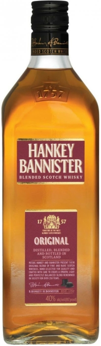 Hankey Bannister Original Scotch Whisky 1L
