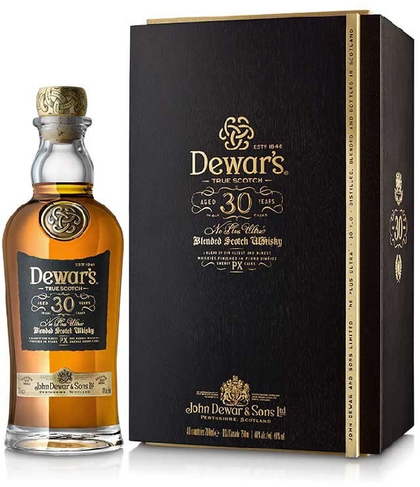 Dewar's 30 Year Old Ne Plus Ultra 40% 700ml