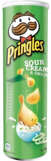 Pringles Sour Cream&Onion 190g