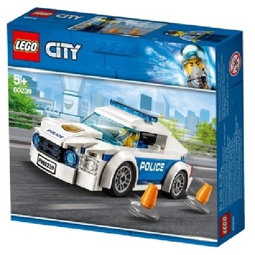 LEGO 60239 Police Patrol Car City Police
