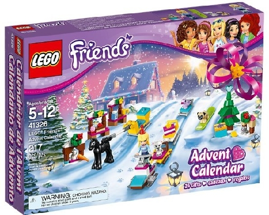 Lego Friends Advent Calendar 41326