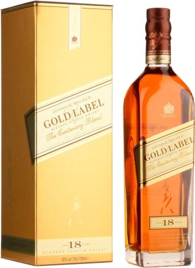 Johnnie Walker Gold Label 18 YO 0.7L