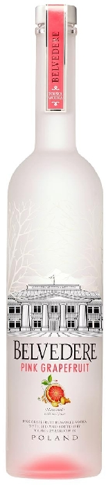 Belvedere Pink Grapefruit Vodka 40% 1L