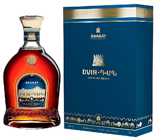ArArAt Dvin Collection Reserve 10YO Gift Box 0.7L