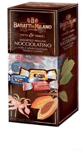 Baratti&Milano Il Mito e il Viaggio Nocciolatino 155g