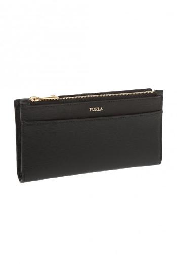 Furla Babylon XL Bifold Wallet, Black/Beige 1045945