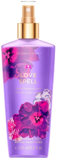 Victoria's Secret Fantasies Love Spell Fragrance Mist Spray 250ml