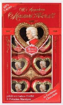 Chocolates Reber Mozart herz 150g